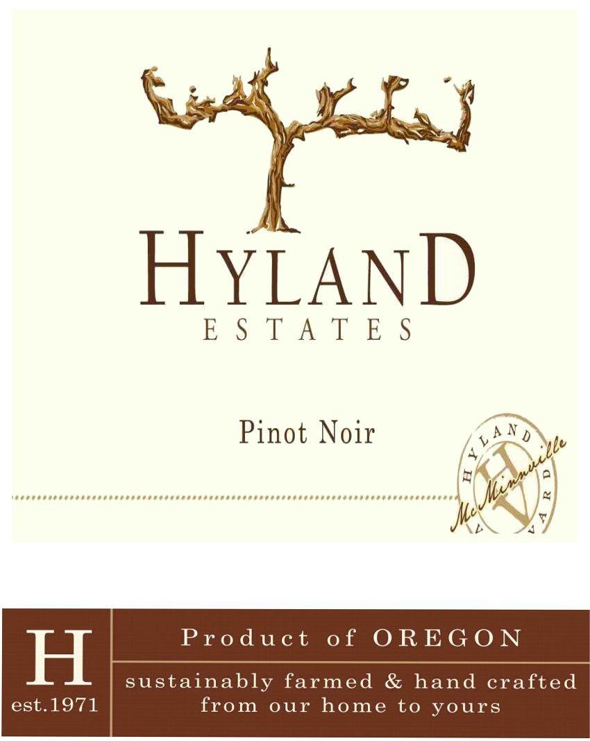 Hyland Estates Estate Old Vine Pinot Noir 2018