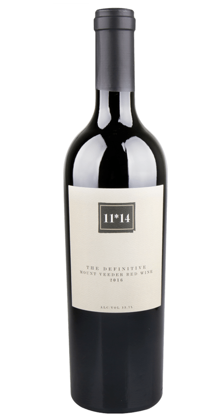 11*14 The Definitive Mount Veeder Red Wine 2016 Napa Valley