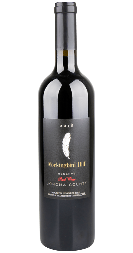 Mockingbird Hill Sonoma County Red Blend Reserve 2018
