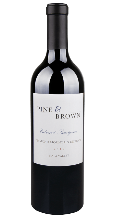 Pine and Brown Diamond Mountain Cabernet Sauvignon 2017