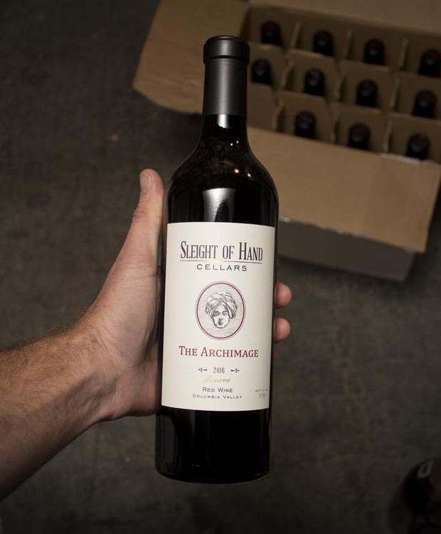 Sleight of Hand Cellars The Archimage Red Blend 2016