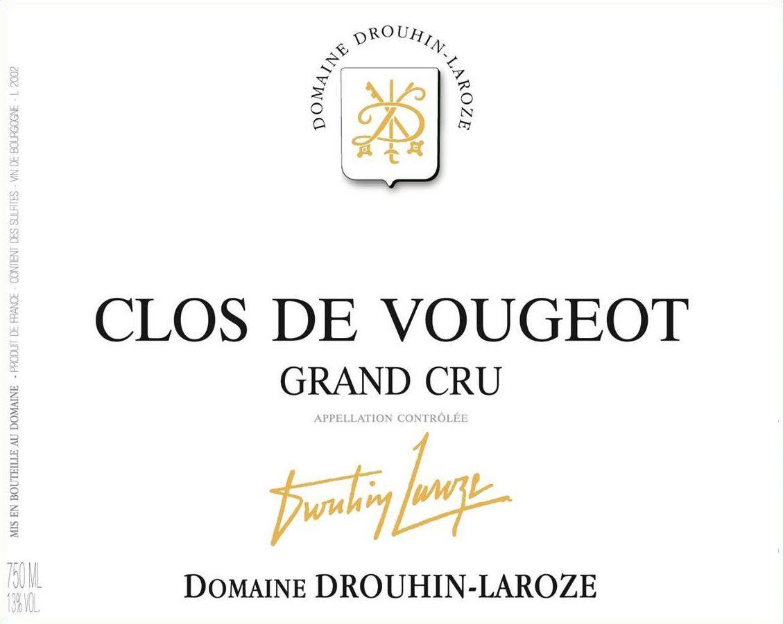 Domaine Drouhin-Laroze Clos de Vougeot Grand Cru 2013