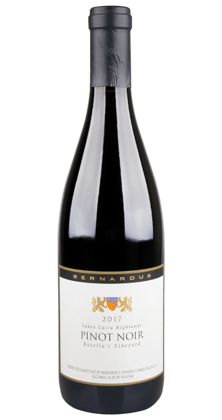 Bernardus Rosella's Vineyard Pinot Noir Santa Lucia Highlands 2017