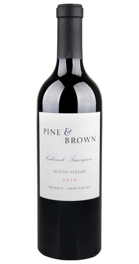 Pine and Brown Mount Veeder Reserve Cabernet Sauvignon 2016