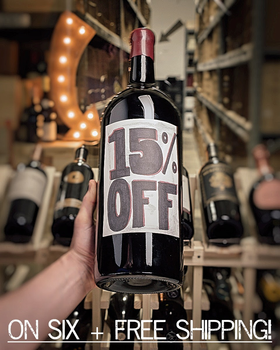 First Bottle 15% OFF 6 or More!