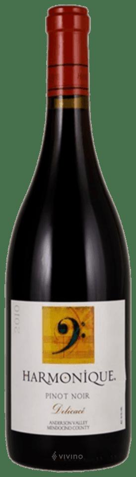 Harmonique Delicacé Pinot Noir 2012