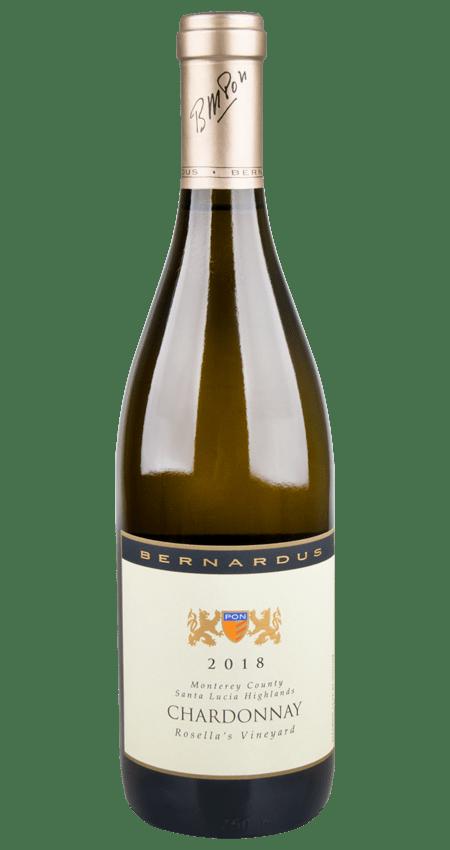 Bernardus Winery Rosella's Vineyard Chardonnay 2018