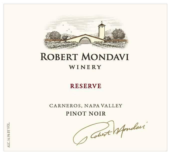 Robert Mondavi Reserve Pinot Noir 2014