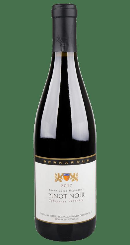 93 Pt. Bernardus Soberanes Vineyard Pinot Noir 2017