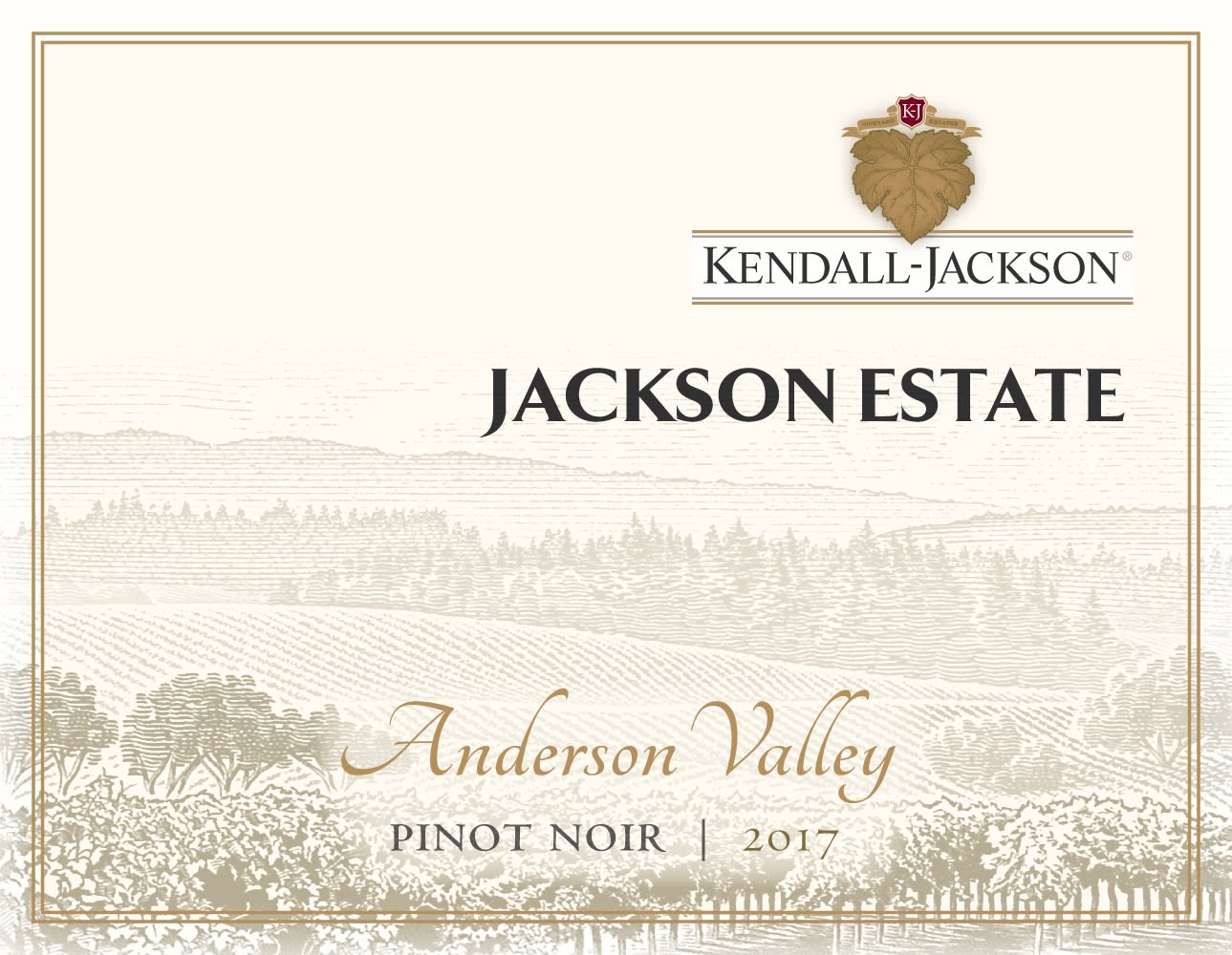 Kendall-Jackson Jackson Estate Anderson Valley Pinot Noir 2017