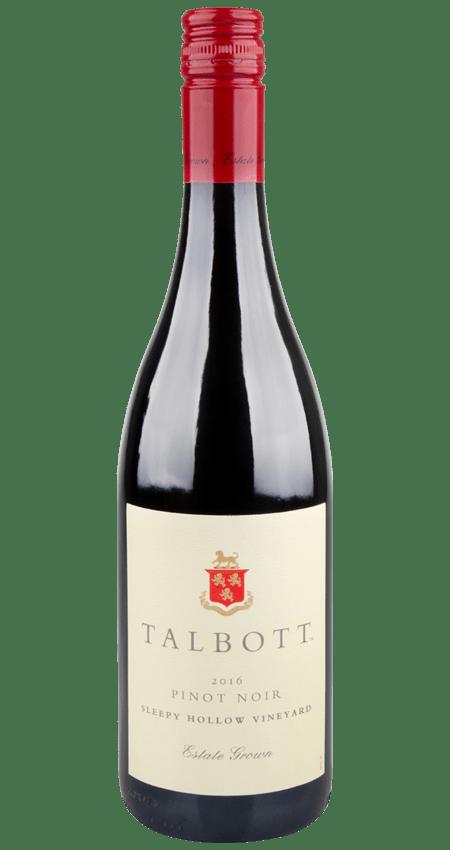 93 Pt. Talbott Vineyards Sleepy Hollow Vineyard Pinot Noir 2016