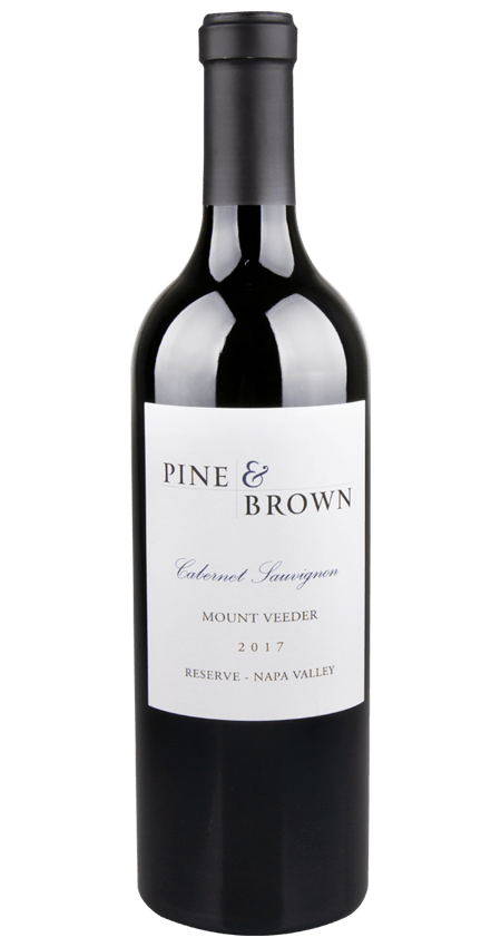 Pine and Brown Mount Veeder Reserve Cabernet Sauvignon 2017 Napa Valley