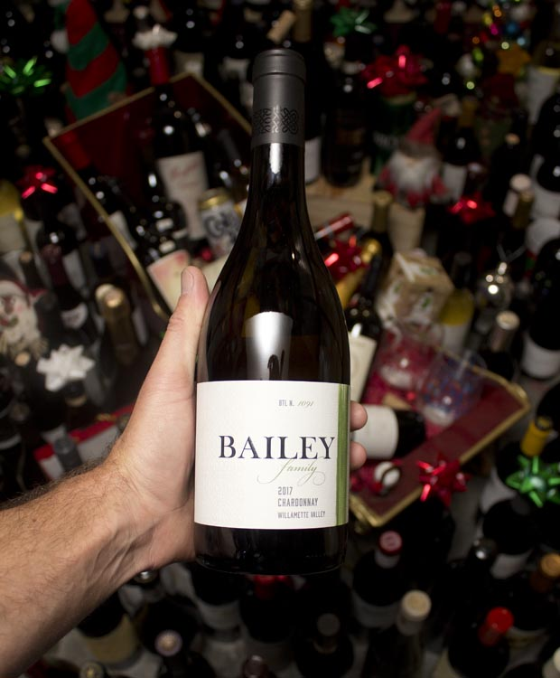 Bailey Family Chardonnay Willamette Valley 2017
