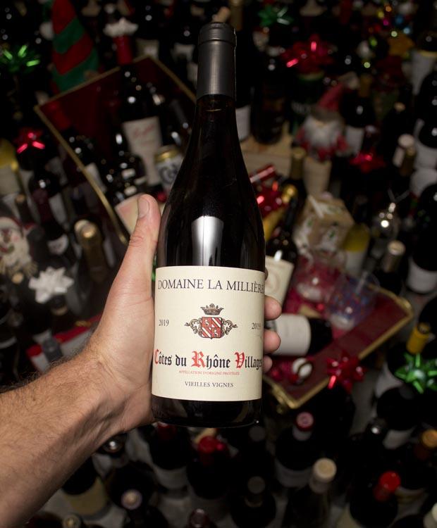 Domaine la Milliere Cotes du Rhone Villages Rouge Vieilles Vignes 2019