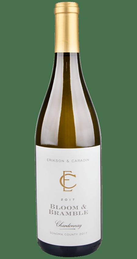 92 Pt. Erikson and Caradin Bloom and Bramble Chardonnay Sonoma 2017