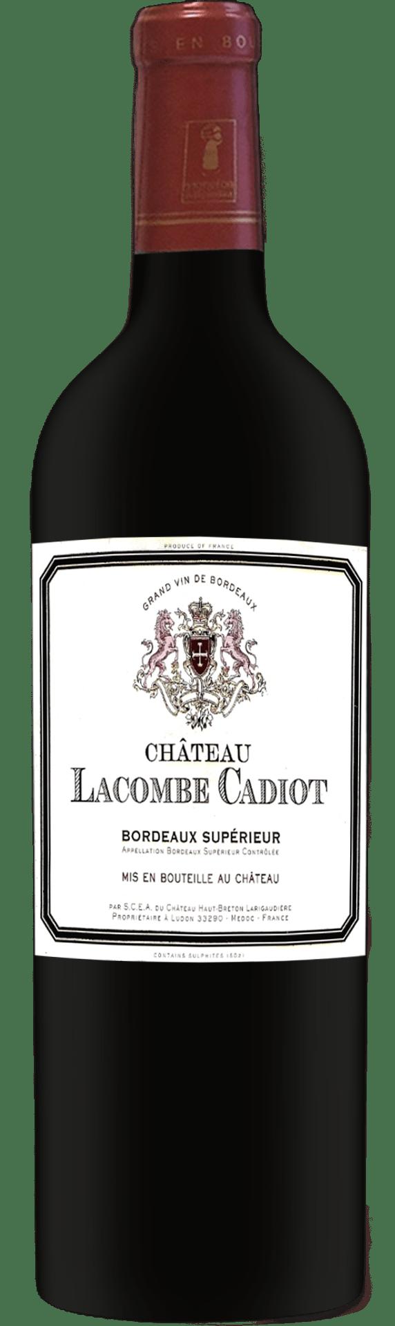 2019 Chateau Lacombe Cadiot Bordeaux Superieur