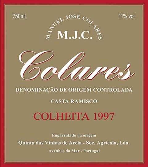 Tavares & Rodrigues M.J.C. Manuel Jose Colares Tinto 1997