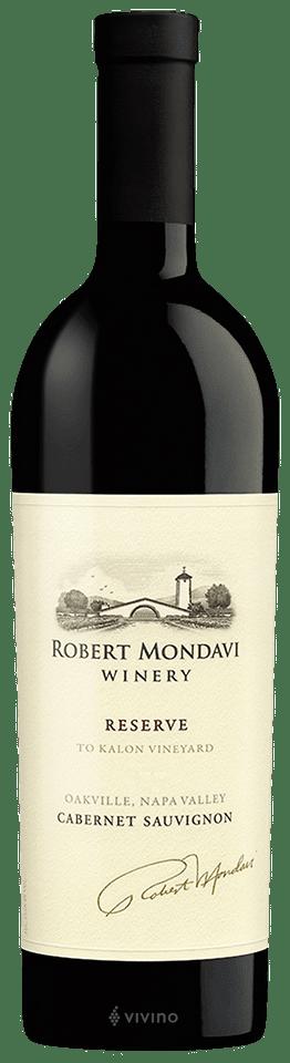 Robert Mondavi To Kalon Vineyard Reserve Cabernet Sauvignon 2016