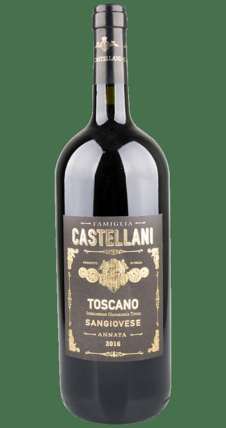 94 Pt. Famiglia Castellani Sangiovese Magnum Toscana IGT 2016