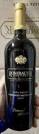 2016 Rombauer Diamond Selection Cabernet (93WS/93RP)