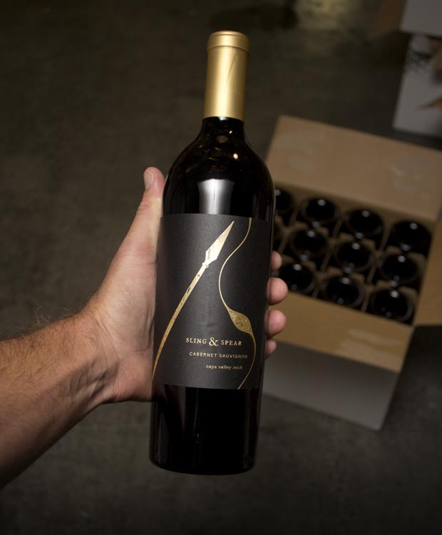 Sling and Spear Cabernet Sauvignon Napa Valley 2018
