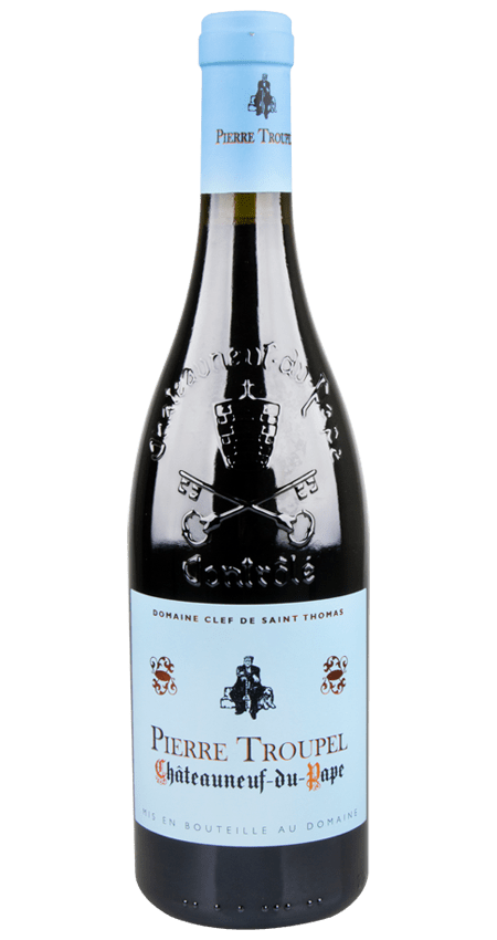 92 Pt. Domaine Clef de Saint Thomas Châteauneuf-du-Pape Pierre Troupel 2018