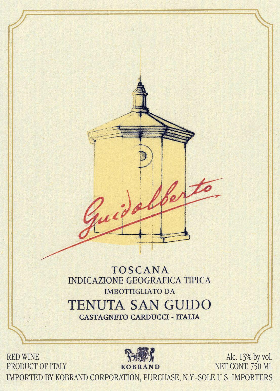 Tenuta San Guido Guidalberto 2018