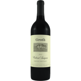 2015 Groth Cabernet Sauvignon Oakville