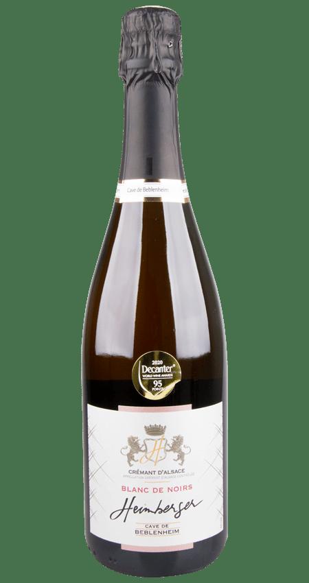 95 Pt. Blanc de Noirs Brut AOC Crémant d'Alsace NV Cave de Beblenheim