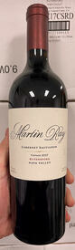2017 Martin Ray Rutherford Cabernet
