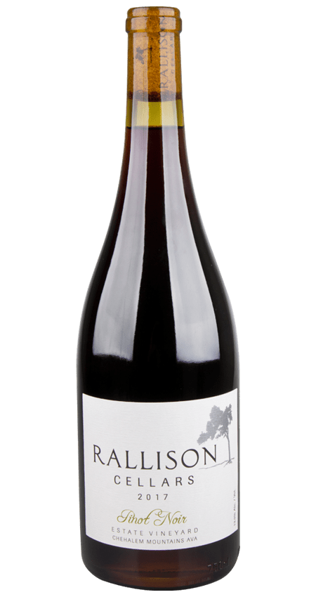Rallison Cellars Willamette Vallery Estate Pinot Noir 2017 Chehalem Mountains