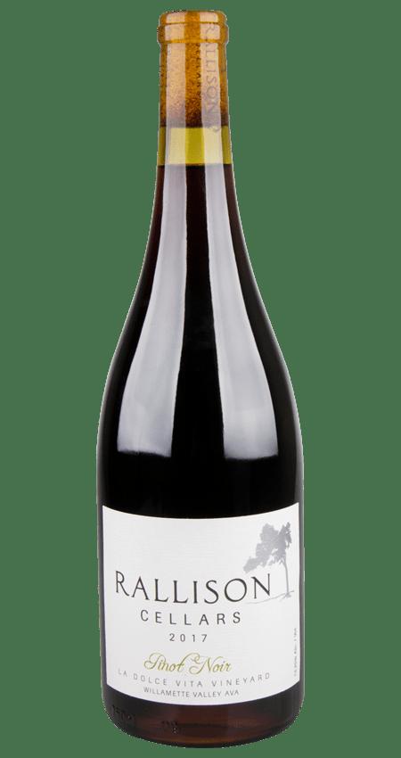Rallison Cellars Willamette Valley Pinot Noir La Dolce Vita Vineyard 2017