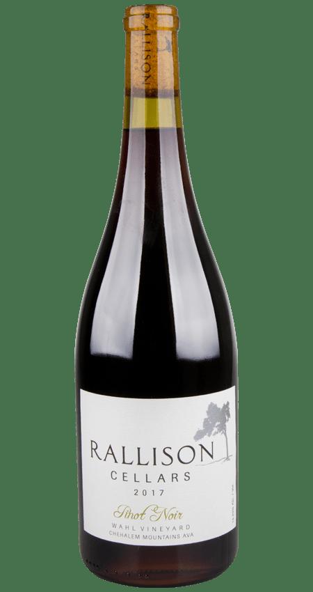 Rallison Cellars Willamette Valley Pinot Noir Wahl Vineyard Chehalem Mountains 2017