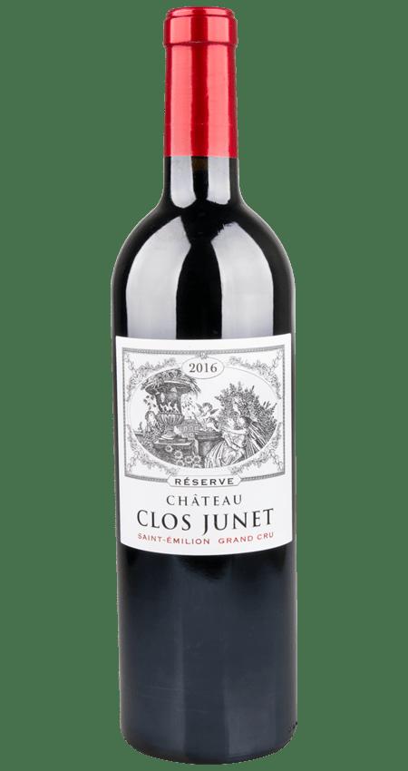 92 Pt. Saint-Émilion Grand Cru Reserve 2016 Château Clos Junet