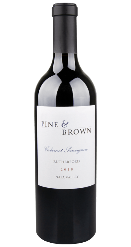 Pine and Brown Rutherford Cabernet Sauvignon 2018