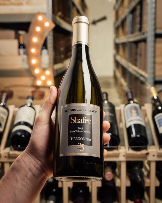 Shafer Chardonnay Red Shoulder Ranch 25th Anniversary 2018