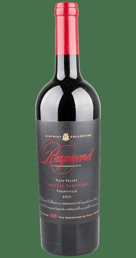 93 Pt. Raymond Vineyards Yountville Napa Valley District Collection Cabernet Sauvignon 2017