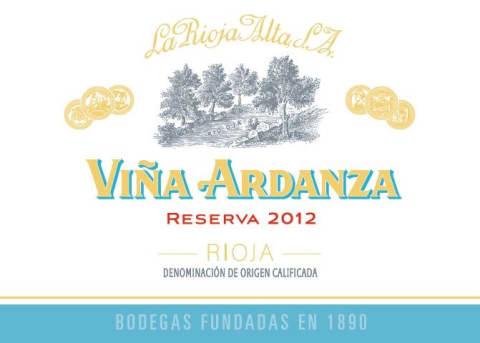 La Rioja Alta 'Vina Ardanza' Rioja Reserva Especial 2012