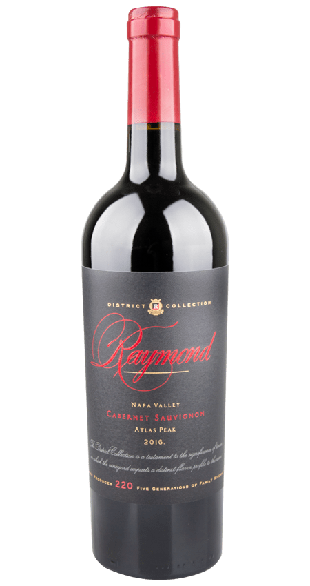 Raymond Vineyards Napa Valley Cabernet Sauvignon 2016 Atlas Peak 'District Collection'