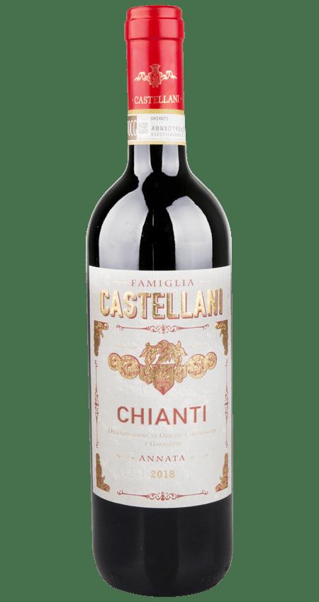 91 Pt. Famiglia Castellani Chianti DOCG 2018