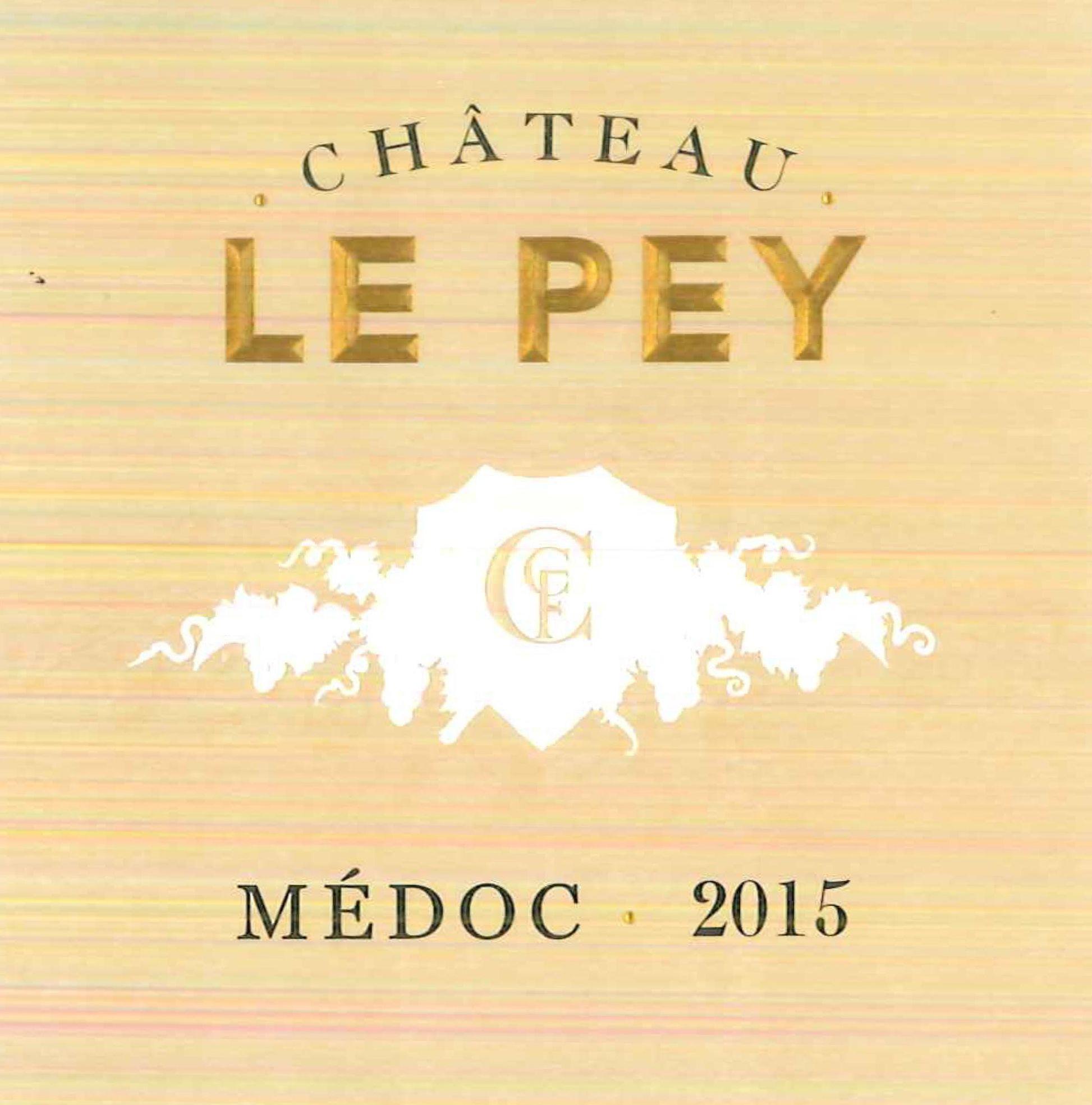 Chateau Le Pey 2015