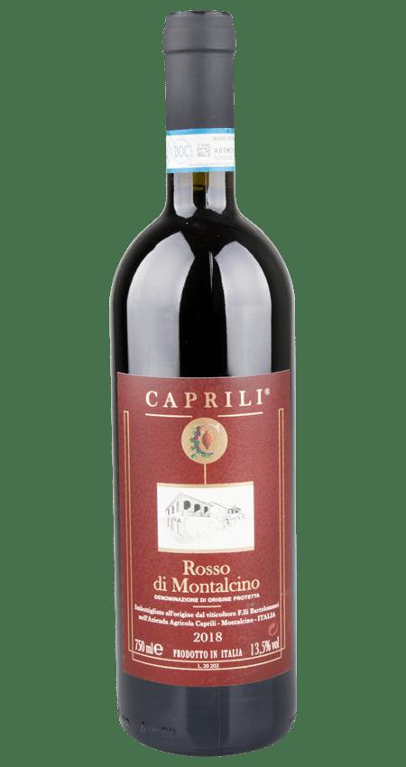 92 Pt. Caprili Rosso di Montalcino 2018