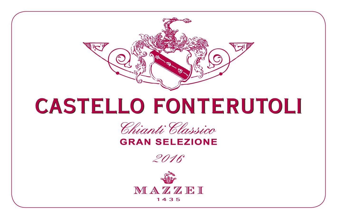 Mazzei Fonterutoli Chianti Classico Gran Selezione 2016