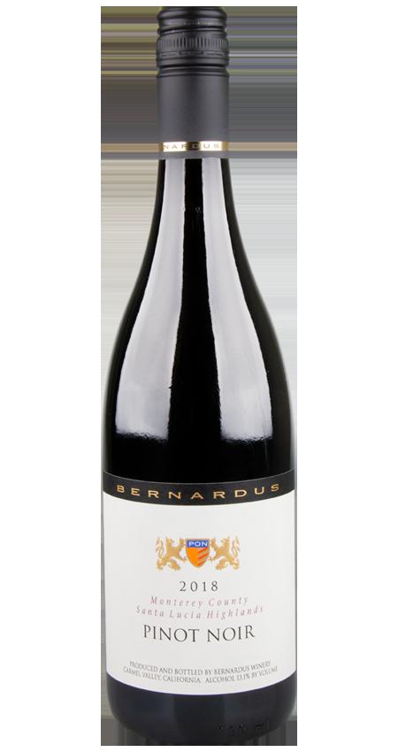 92 Pt. Bernardus Santa Lucia Highlands Pinot Noir 2018