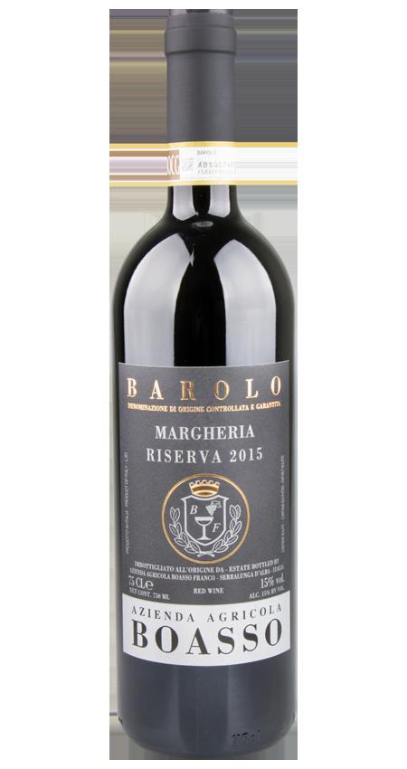 95 Pt. Boasso Barolo Cru Margheria Riserva 2015