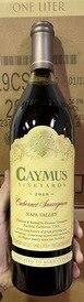 2019 Caymus Napa Valley Cabernet 1L Bottle