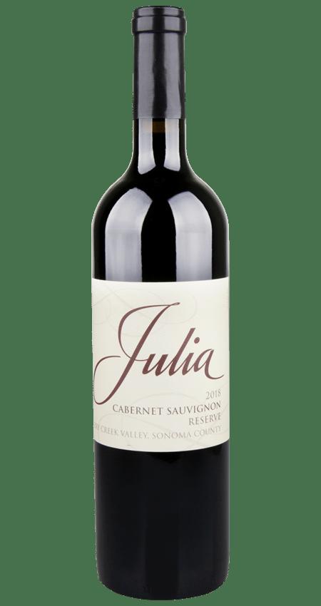 Julia Dry Creek Valley Sonoma County Cabernet Sauvignon Reserve 2018