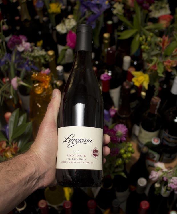 Longoria Pinot Noir Sanford & Benedict 2016