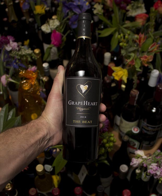 Grapeheart the Beat Proprietary Red Blend 2014