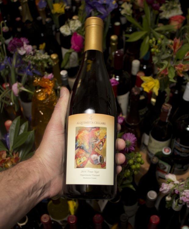 Alquimista Cellars Pinot Noir Oppenlander 2016